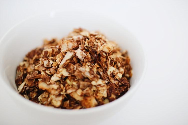 óleo de coco no café da manhã